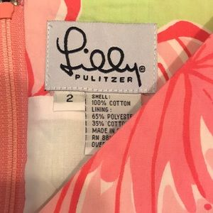 Lilly Pulitzer Dresses - Lilly Pulitzer pink and green sundress! Size 2