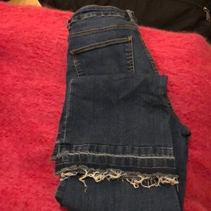 Zara flare jeans with details