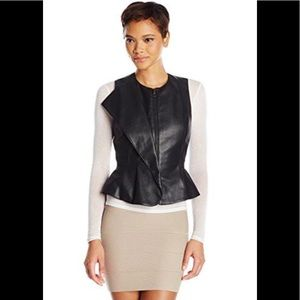Bcbg MaxAzaria Liu Leather Vest