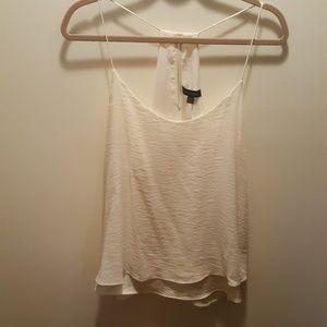 Banana Republic cream tank split back