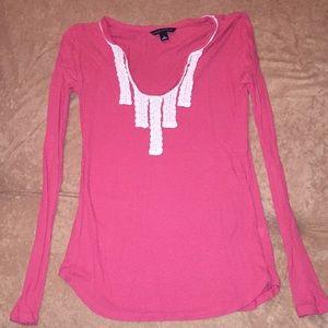 S Banana Republic lightweight LS shirt