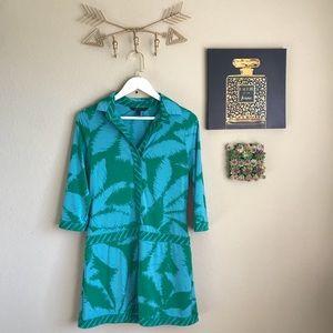 BCBGMAXAZRIA Drop Waist Mini Dress