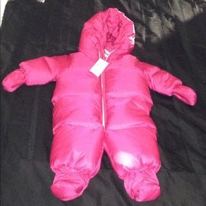 Ralph Lauren pink snow suit