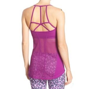 Zella Dream Catcher Purple Athletic Tank