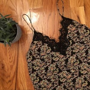 ✨NEW✨ Free People Lace Trim Cami
