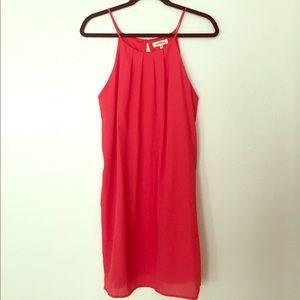 Monteau bright pink dress