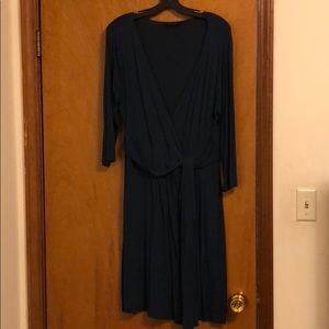 Faux wrap dress from THE LIMITED