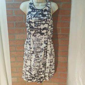 Cynthia Rowley Sz 8 Racerback Dress Back Zip