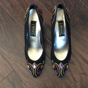 Vintage Jewelled Heels