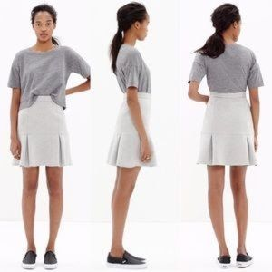 Madewell Bonded Ruffle mini skirt