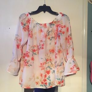 Beautiful Nordstrom off the shoulder top!