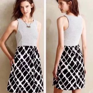 Anthropologie Tabitha Aleida Black White Dress 2