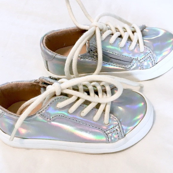 5375606a00e 🦄ZARA BABY iridescent sneakers 🦄. M 5a2db8ff522b45654d009af1