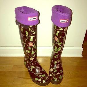 Hunter Rain Boot (Floral)