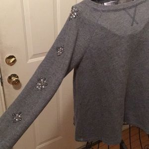 Bedazzled sweater