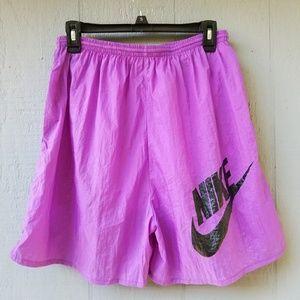 Nike VTG purple Elastic Basketball Shorts XL Men's