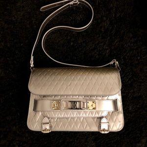 Proenza Schouler PS11 Metallic Leather Bag