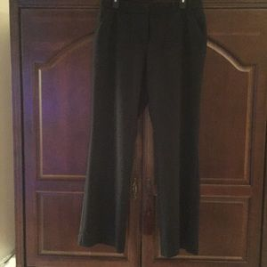 Black Trouser Pants. Size 12.