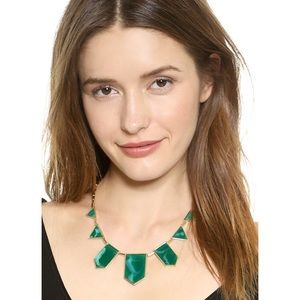 House of Harlow 1960 Green Marble Necklace