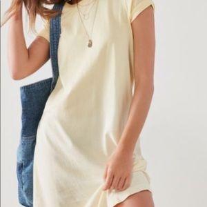 Urban tee shirt dress