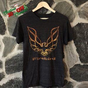 🎅🏼 20% OFF | vtg// dark gray firebird logo tee