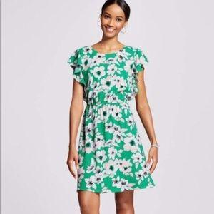 Merona Flowered dress size medium