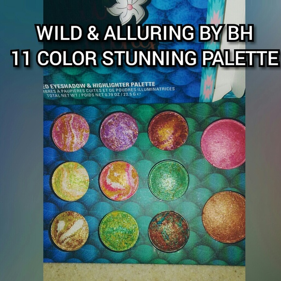 Wild & Alluring Baked Eyeshadow & Highlighter Palette by BH Cosmetics #21