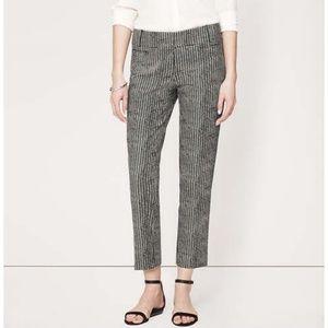 Loft marisa cropped work pants