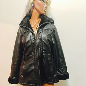 WILSONS leather jacket L