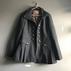 Free People Military style Peacoat | size 12
