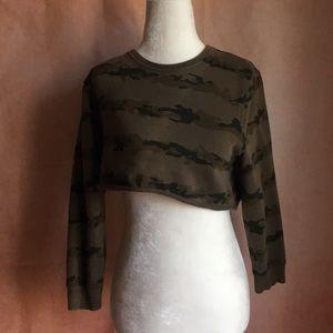 Zara Camp Crop Top Sweater