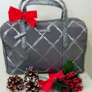 Vera Bradley Marlo satchel burnished pewter