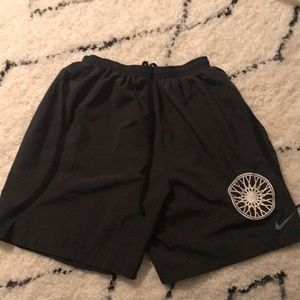 Nike dri-fit soulcycle black shorts
