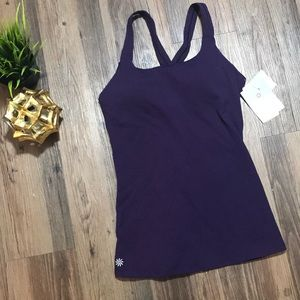 Purple Athleta Shirt
