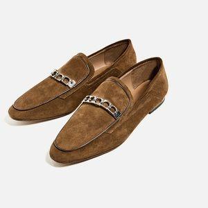 NWT Zara Slipper Loafers