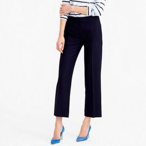 J. Crew Tall patio pants, Super 120s wool 6T