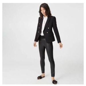 Club Monaco Tasha Faux Leather Leggings