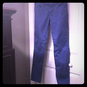 Ann Taylor LOFT Modern Skinny Blue Pants Size 28/6