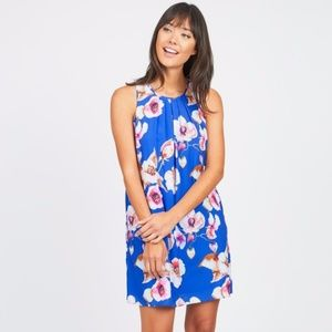Kut From Kloth Seka Floral Blue Dress