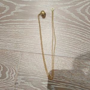 House of harlow skull necklace