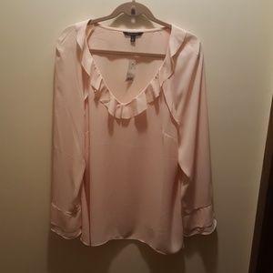 Beautiful blush blouse
