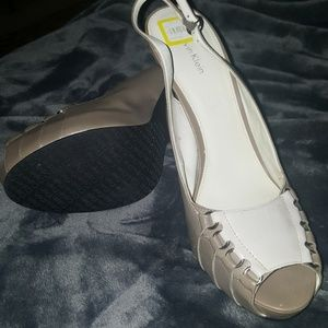 Calvin Klein sling backs worn but not much