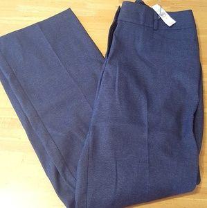 NWT Loft Marisa Boot Cut Navy Blue Pant