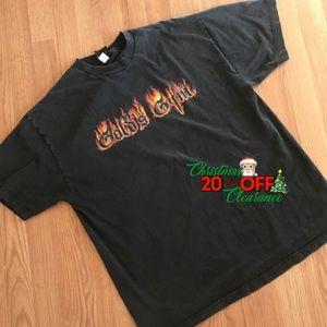 🎅🏼 20% OFF | vtg// black gold's gym logo tee