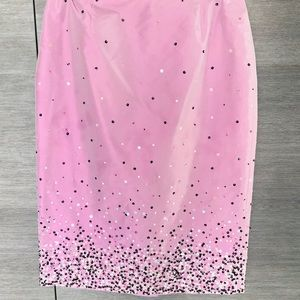 New with tags, Ann Taylor silk skirt with sequins