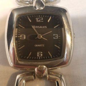 Versales women's watch silver tone