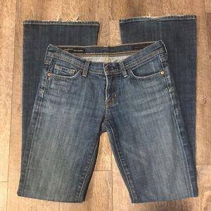 COH Ingrid #002 low waist flare stretch blue jeans