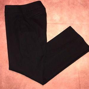 LOFT Petites~Black Julie Pants~2P