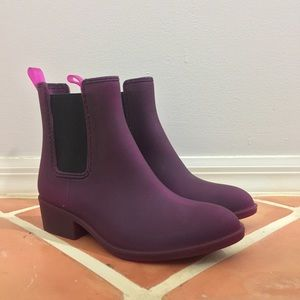 Jeffrey Campbell Stormy Rain Boots NEW
