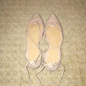 NEW tan forever 21 flats!!